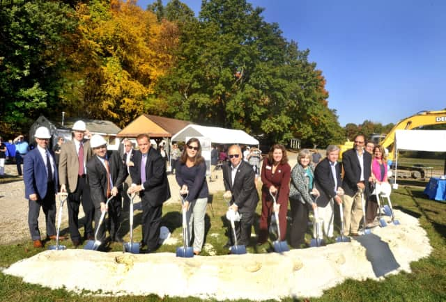 Regional YMCA breaks ground on new a Youth Development and Aquatic Center.vSee story for IDs.