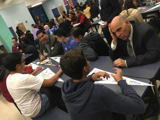 Yonkers Partners in Education, a group that uses mentors to help guide students through high school and prepare them for college and careers, recently celebrated its program and the young scholars who are in it.