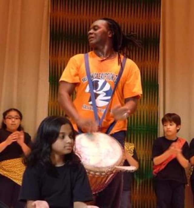 Dancer and percussionist Yahaya Kamate