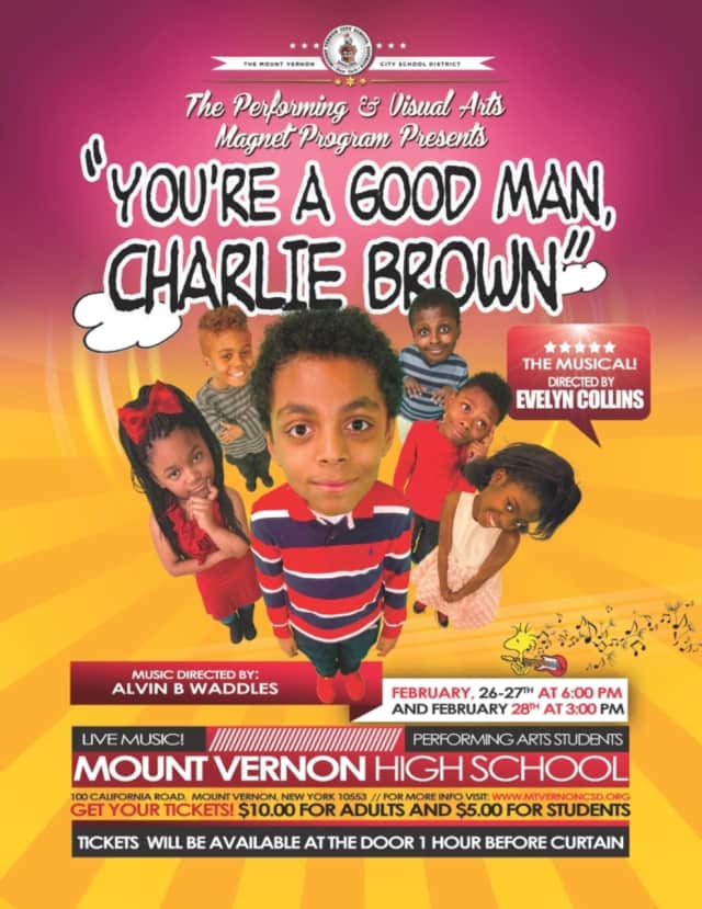 """There will be three performances of """"You're a Good Man Charlie Brown."""""""