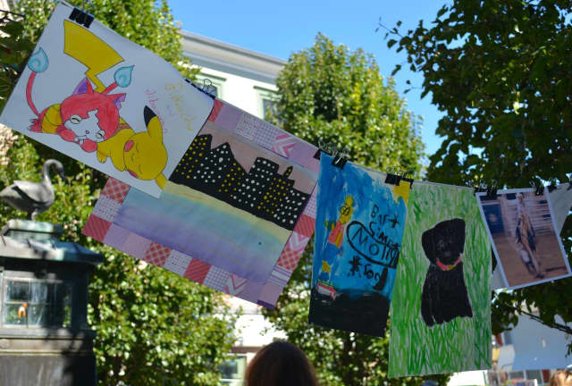 Young artists are invited to bring their work to Grove Street Plaza on Saturday for the Future Darien Artists Show.
