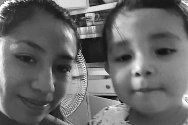 Yuliana Gomez and her young daughter recently lost everything but each other in a house fire.