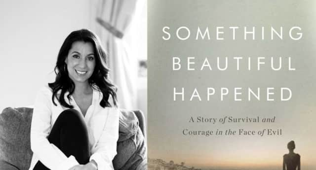 "Yvette Manessis Corporon has written a new book, ""Something Beautiful Happened."""