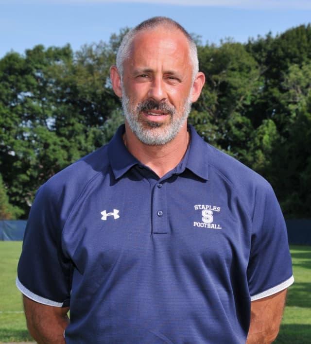 Staples High School Assistant Football Coach Jon Zames