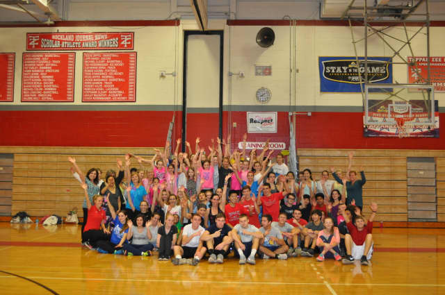 The Blauvelt Lions Leo Club at Tappan Zee High School raised more than $1,100 for Home for Heroes.