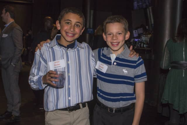 Jared Boder and Jack Sendek, both of Briarcliff Middle School, recently were named the Students of the Year by the Leukemia & Lymphoma Society.