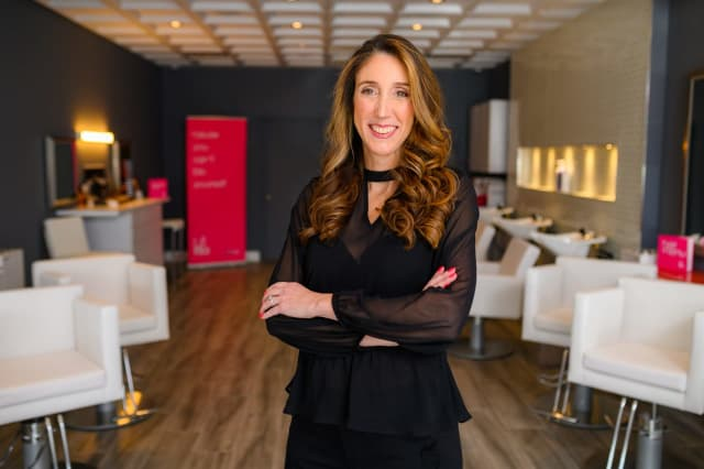 Kari Valcich is opening Blo Blow Dry Bar in Franklin Lakes.