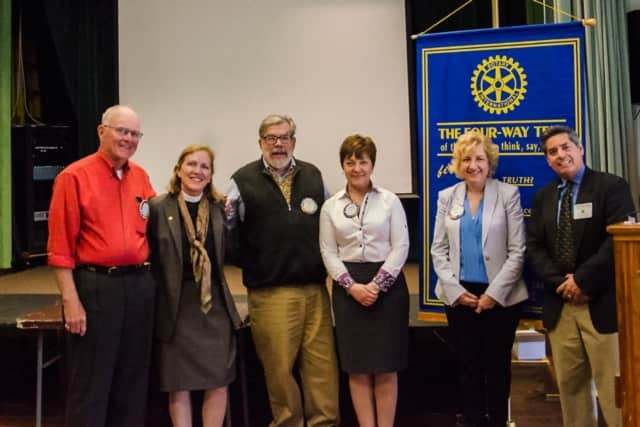 The Fairfield Rotary recently inducted two new members.