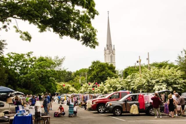"""Trinity Episcopal Church in Southport is once again hosting the one-of- a-kind """"Trinity Tailgate Tag Sale."""""""