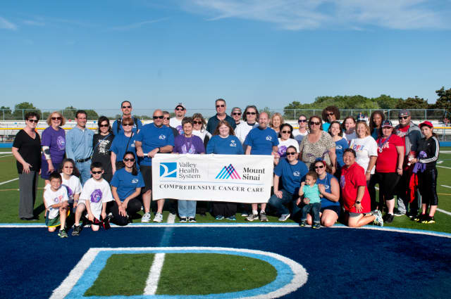 Valley Health System particiapted in the Relay for Life in Paramus.