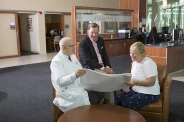 The McGraw family has pledged $3 million for a New Learning Center at Norwalk Hospital.