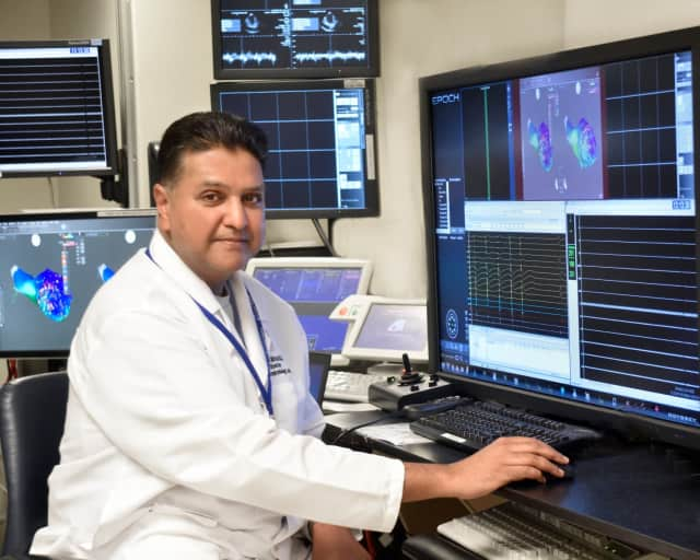 Dr. Suneet Mittal and his team at The Valley Hospital are working to treat the early symptoms of AFib in patients.