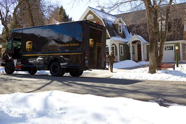 UPS is hiring for the holidays.