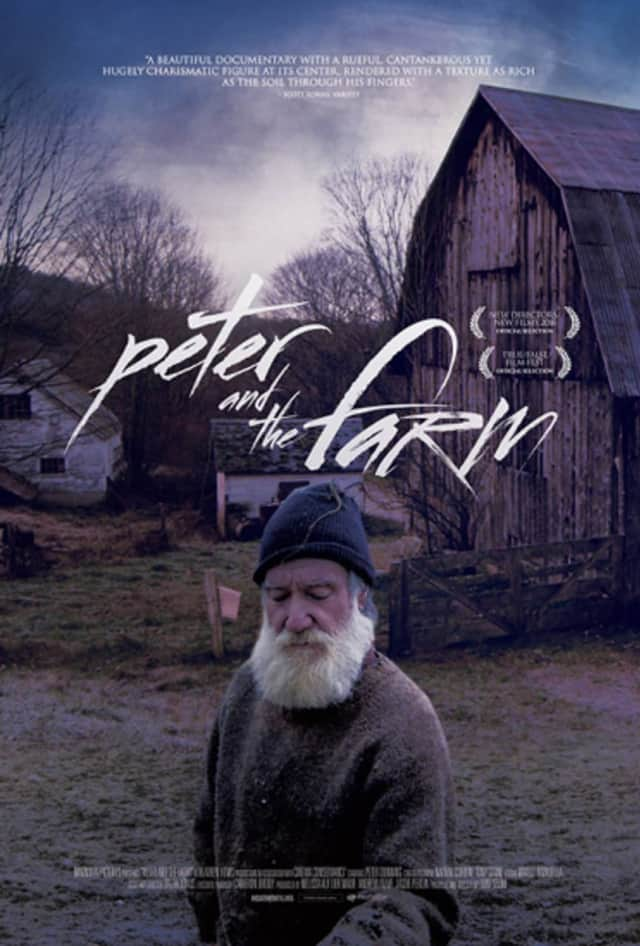 Peter and the Farm will be discussed Sunday with Director and Cinematographer Tony Stone.