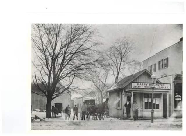 Purchase Street in the 1900s