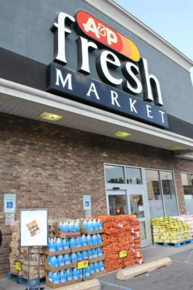 Five A&P Stores were auctioned in the White Plains area with another eight slated for the auction block later this week.