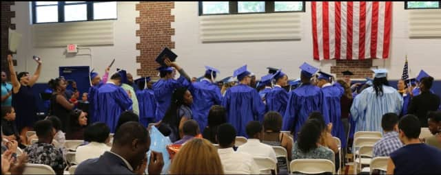 Andrus Orchard School celebrates the Class of 2016 at Friday's commencement ceremony.