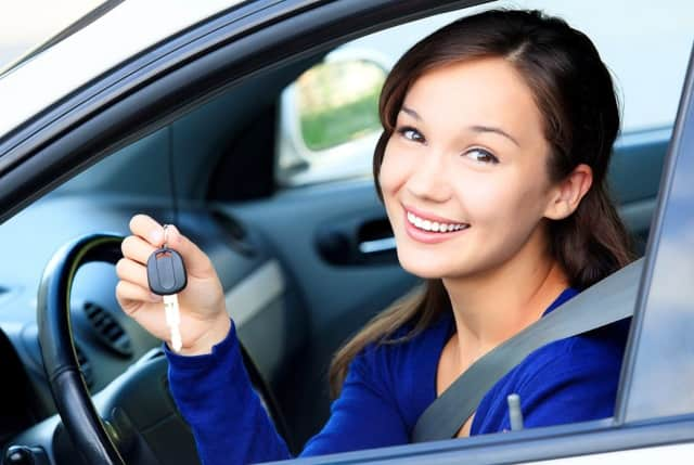 AAA North Jersey give a talks to high school students about the dangers of distracted driving.