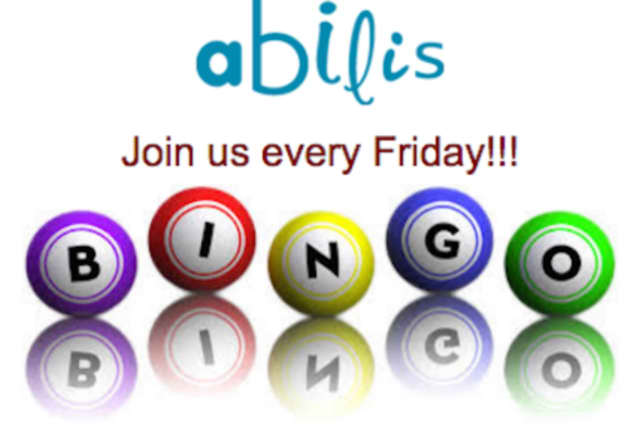Join Abilis for Friday bingo nights.