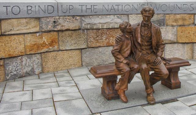 A Lincoln memorial in Virginia