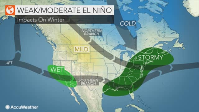 There is a 50 to 55 percent chance for El Niño to develop starting around July, according to a report by NOAA's Climate Prediction Center.