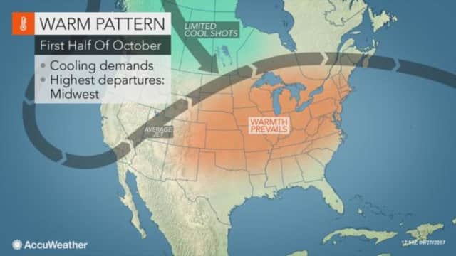 Warmer weather will return to Orange County this week.