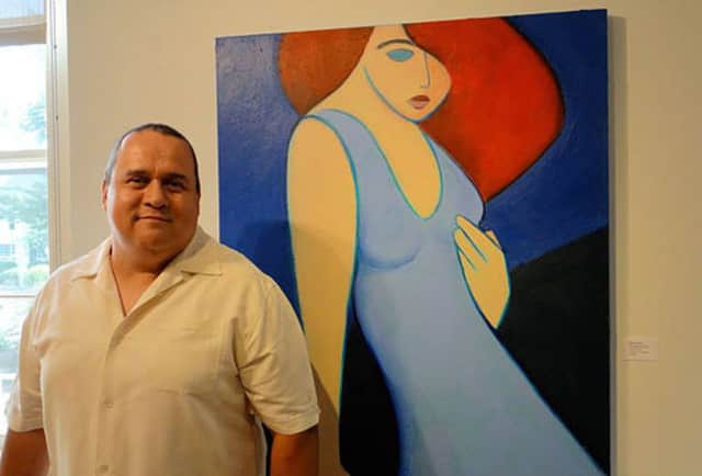 The work of Stratford artist Benjamin Casiano will be on display at the Stratford Library from May 1 through June 30.