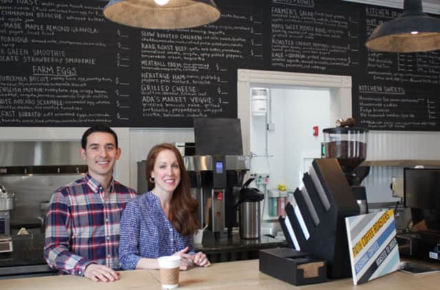 Mike and Krista Pietrafeso opened Ada's Kitchen & Coffee in the Riverside section of Greenwich earlier this year. The site was the previous home Ada's, a candy and variety store.