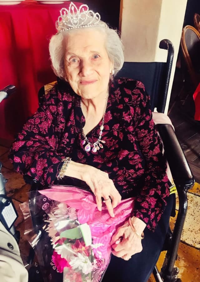Agnes Terminiello of Saddle Brook turned 100.