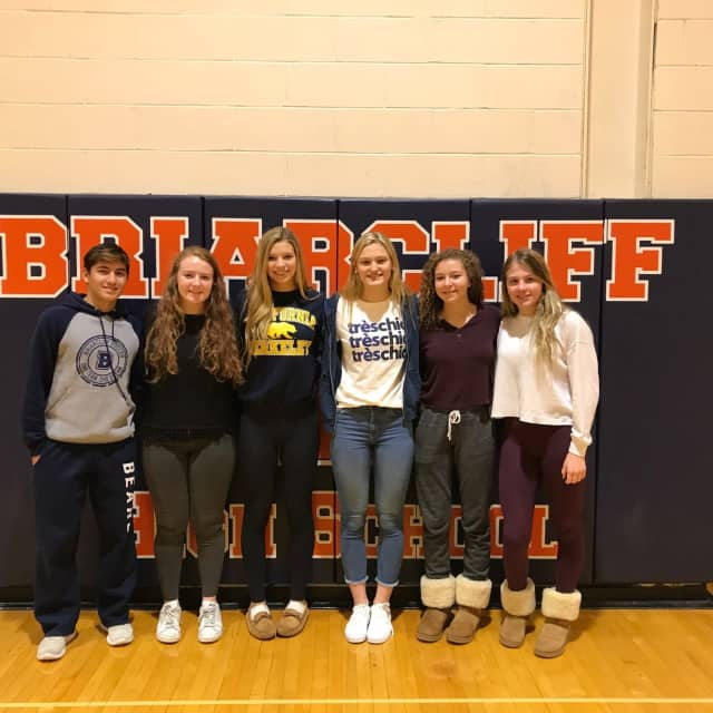 Briarcliff's All-State Athletes.