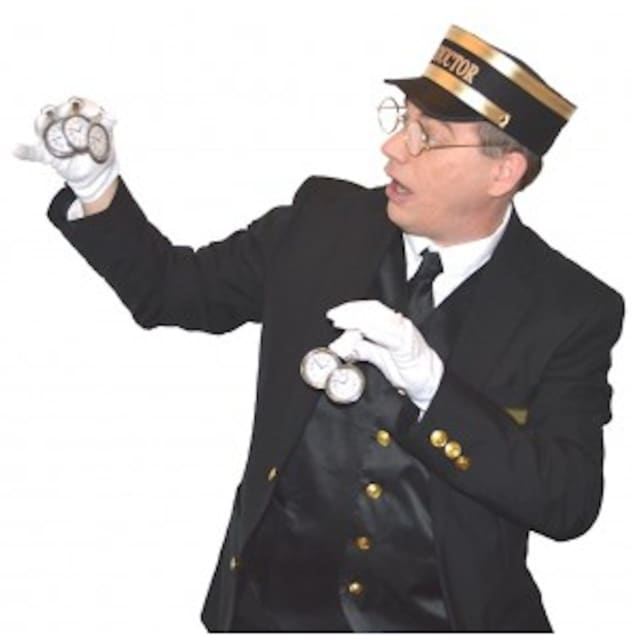 Magician Steve Woyce will put on his Winter Express Magic Show at the The Cyrenius H. Booth Library on Saturday, Feb. 6, from 10 - 11 a.m.