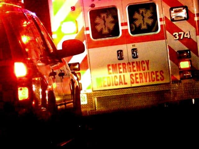 The passenger was taken to St. Joseph's Regional Medical Center