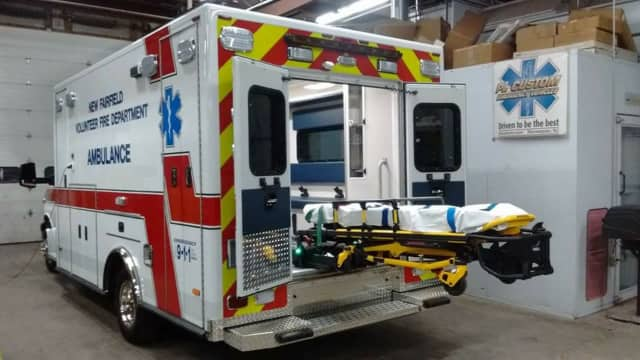 New ambulance for New Fairfield