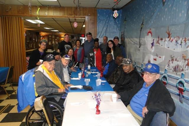 American Legion Post 289 gathers for breakfast.