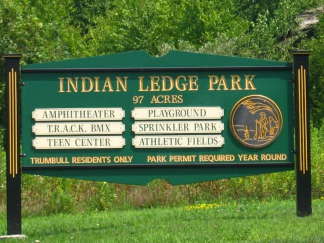 Money to replace the playground at Indian Ledge Park were slashed by the town's finance board.