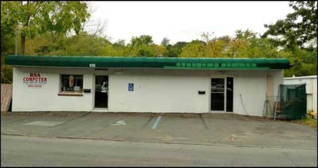 This building at 630 Saw Mill River Road, Ardsley, has sold for $500,000.