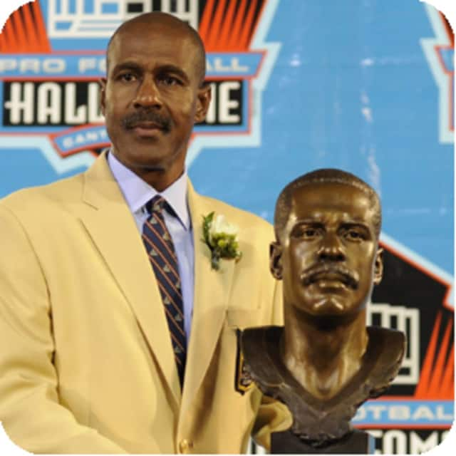 Art Monk, Hall of Fame football player who helped the Washington Redskins win three Super Bowl titles, honors alma mater Whilte Plains High School this week.
