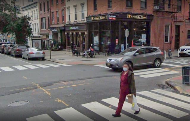 Artichoke Basile's on Hudson Street in Hoboken.