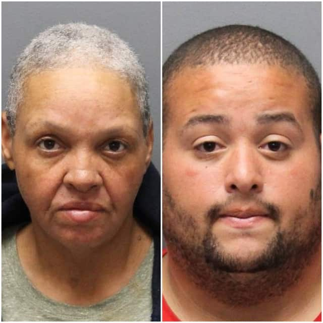 Jeanette Socorro Moore Aviles, 48, and her son Christopher Vargas, 26 have been charged with criminal mischief for vandalizing Veterans Memorial Monument.