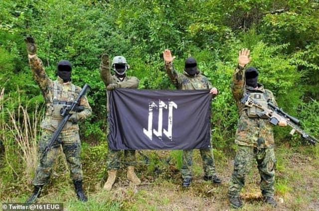 "Members of ""The Base."""