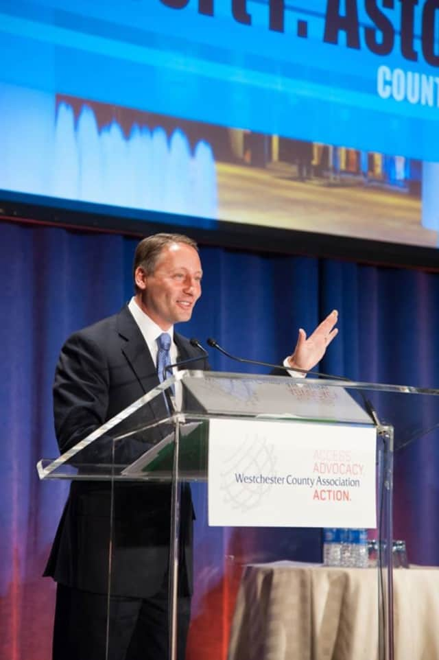 Westchester County Executive Rob Astorino says this year's 14 development projects boosted county's economy.