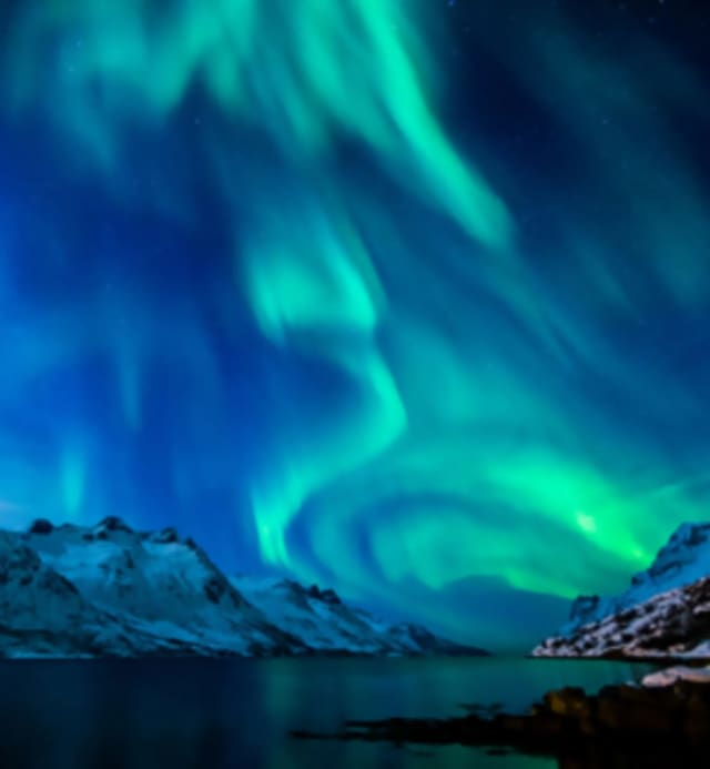 The Hudson Valley Philharmonic is presenting a visual and musical journey into the aurora borealis, a natural electrical phenomenon characterized by spectacular displays of reddish or greenish light in the sky, usually near the north or south poles.