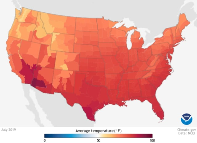 New Jersey's average annual temperature is nearly at 2 degrees Celsius above the 1895 average, a crucial threshold, climate scientists say.