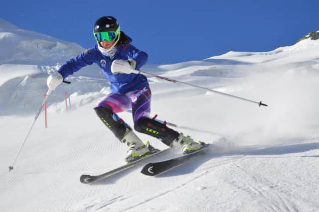 Olivia Holm, 15, of Old Greenwich will complete at L'Alpe Cimbra FIS Children Cup March 6 to 11 in Tarvisio, Italy.