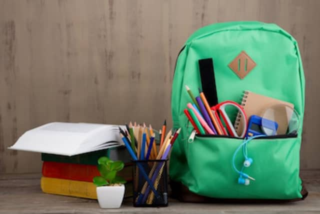 The Sharing Shelf will be filling backpacks for kids in need Saturday, Aug. 11 at its Port Chester location.