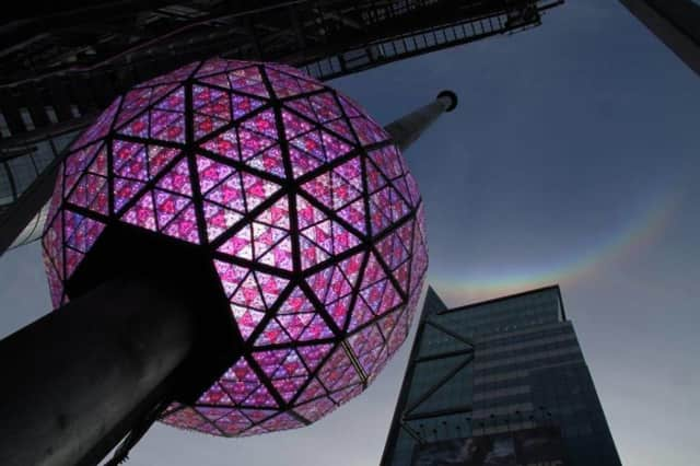 New Year's Eve in Times Square is reportedly expected to be the biggest one yet.