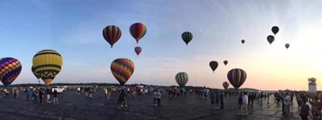 The Hudson Valley Hot Air Balloon Festival kicks-off on Friday and runs through the weekend in Poughquag.