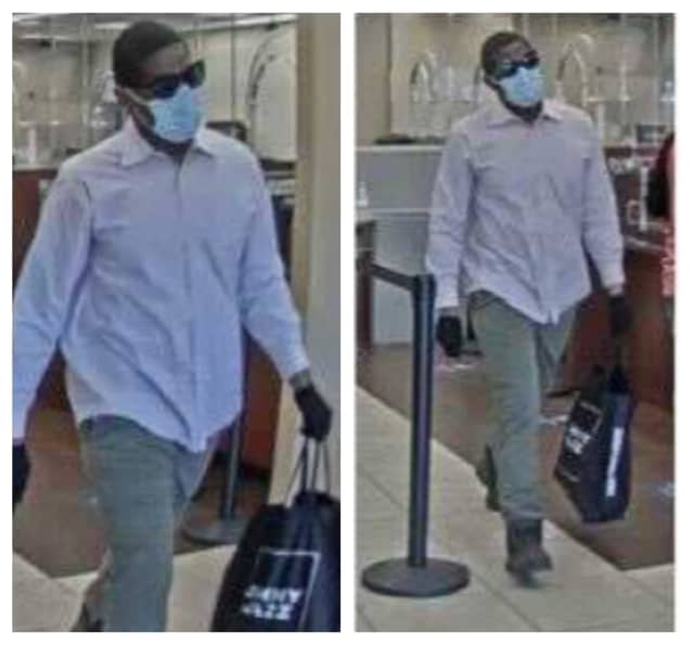 Know him? Bridgeport police are searching for a man who allegedly robbed a Fairfield County Chase Bank.