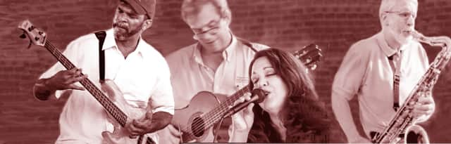 Barbara's Serenade will perform jazz, holiday and Latin tunes Saturday at Fuji of Japan in Darien with, from left, Steve Clarke on bass, Jim Olbrys on guitar, Barbara Occhino on vocals and Al Brooks on saxophone and flute.