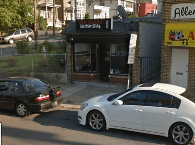 Jonny Blades Barber Shop, McBride Avenue, Paterson.